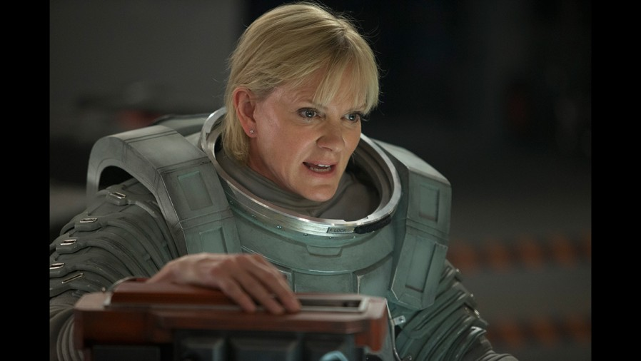 Hermione Norris in 'Kill the Moon' (Pic: BBC)