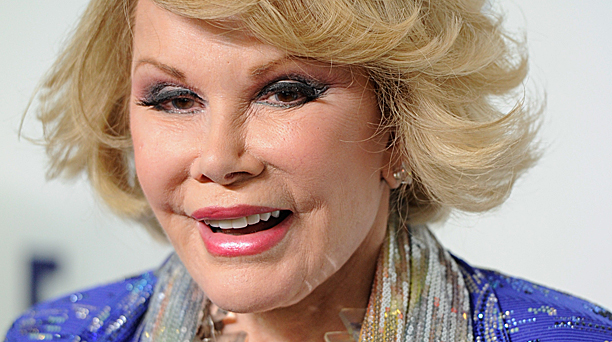 Joan Rivers (Pic: Evan Agostini/Invision/AP)