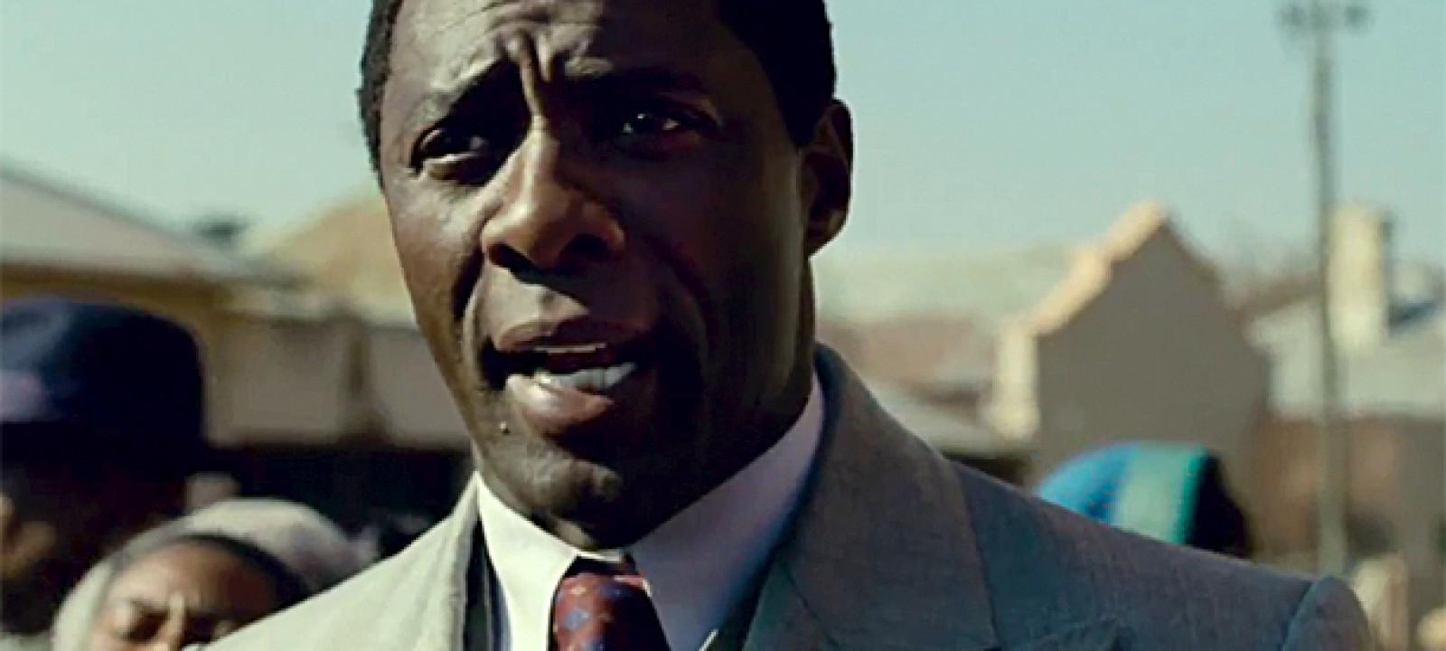 Idris Elba in 'Long Walk To Freedom'