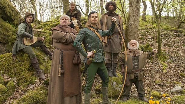 "The Merry Men of 'Doctor Who's ""Robot of Sherwood"""