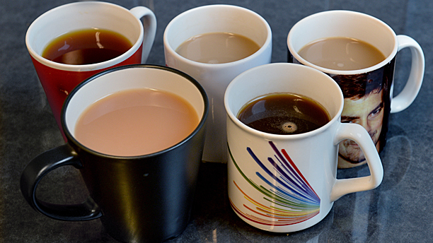 Teas and coffees, British style (Pic: AP Images)