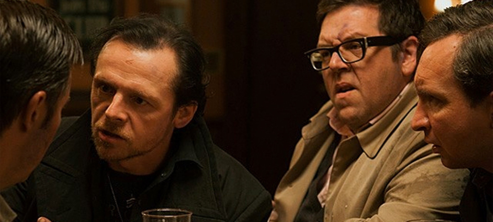 Simon Pegg and Nick Frost in 'The World's End'