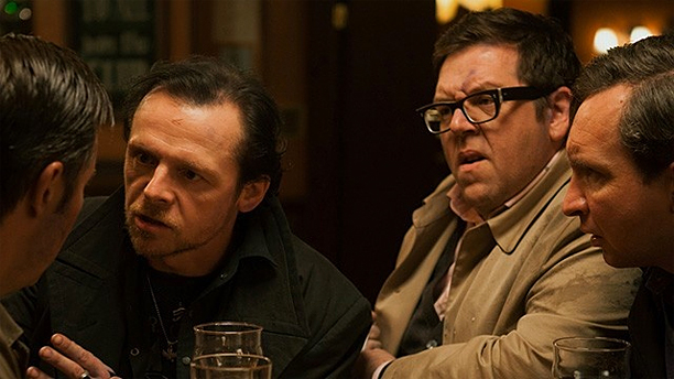 Simon Pegg and Nick Frost in 'The World's End' (Pic: Universal Pictures)