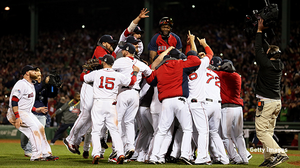 Why is it called the World Series? (Photo: Rob Carr/Getty Images)