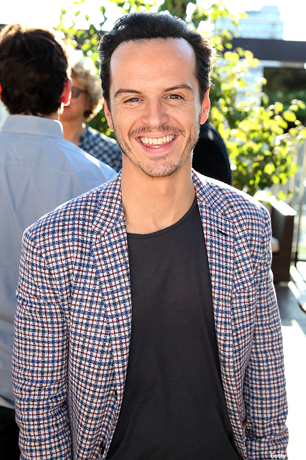 TORONTO, ON - SEPTEMBER 08:  Actor Andrew Scott attends the British Film Commission We are UK Film Party during the 2014 Toronto International Film Festival held at the Spoke Club on September 8, 2014 in Toronto, Canada.  (Photo by Karl Walter/Getty Images for British Film Commission)