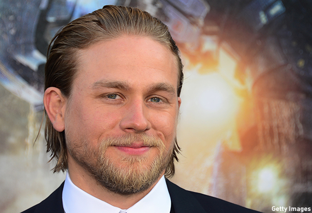 "Actor Charlie Hunnam poses on arrival for the Los Angeles premiere of the film ""Pacific Rim"" in Hollywood, California, on July 9, 2013. The film opens nationwide on July 12. AFP PHOTO/Frederic J. BROWN        (Photo credit should read FREDERIC J. BROWN/AFP/Getty Images)"