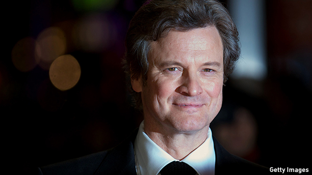 British actor Colin Firth poses on the red carpet as he arrives to attend the World Premier for the film 'Gambit' in Leicester Square, central London on November 7, 2012. AFP PHOTO / ANDREW COWIE        (Photo credit should read ANDREW COWIE/AFP/Getty Images)