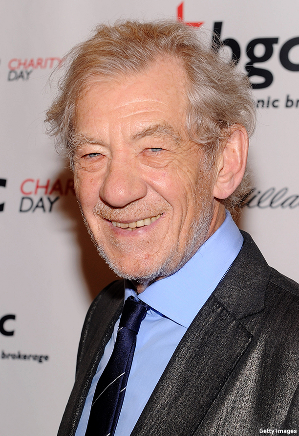 NEW YORK, NY - SEPTEMBER 11:  Actor Sir Ian McKellen attends the annual charity day hosted by Cantor Fitzgerald and BGC at the BGC office on September 11, 2013 in New York City.  (Photo by Jamie McCarthy/Getty Images for Cantor Fitzgerald)