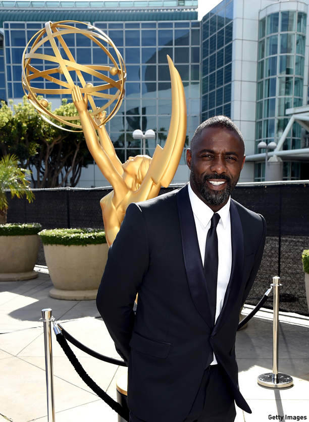 LOS ANGELES, CA - AUGUST 25:  Actor Idris Elba attends the 66th Annual Primetime Emmy Awards held at Nokia Theatre L.A. Live on August 25, 2014 in Los Angeles, California.  (Photo by Michael Buckner/Getty Images)