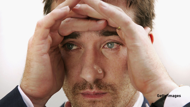"""TORONTO - SEPTEMBER 10:  Actor Matthew MacFadyen poses for a portrait while promoting his film """"Pride and Prejudice"""" at the Toronto International Film Festival September 10, 2005 in Toronto, Canada.  (Photo by Carlo Allegri/Getty Images) *** Local Caption *** Matthew MacFadyen"""