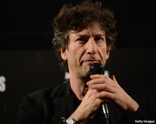 """HOLLYWOOD, CA - MAY 05:  Writer Neil Gaiman attends the screening for """"Coraline"""" during the Entertainment Weekly CapeTown Film Festival Presented By The American Cinematheque & Sponsored By TNT's """"Falling Skies"""" at the Egyptian Theatre on May 5, 2013 in Hollywood, California.  (Photo by Michael Buckner/Getty Images for Entertainment Weekly)"""