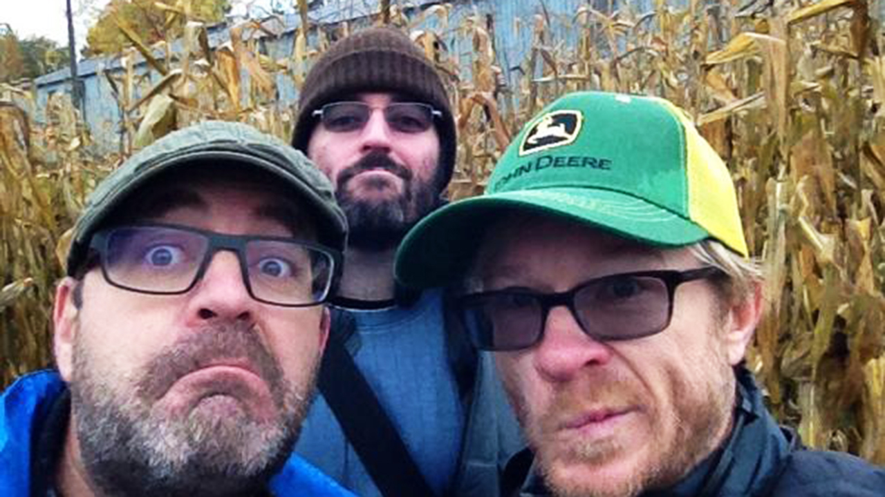 """Children of the corn. OB, Day 5 w @JohnFawcett75 and scribe Chris Roberts."" - Graeme Manson via Twitter"