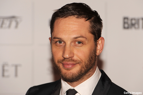 LONDON, ENGLAND - DECEMBER 08:  Actor Tom Hardy arrives on the red carpet for the Moet British Independent Film Awards at Old Billingsgate Market on December 8, 2013 in London, England.  (Photo by Ben A. Pruchnie/Getty Images for The Moet British Independent Film Awards)