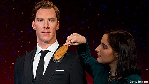 Benedict Cumberbatch gets the brush-off.