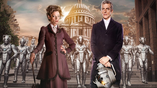 Missy, the Doctor and the Cybermen in 'Dark Water' (Pic: BBC)