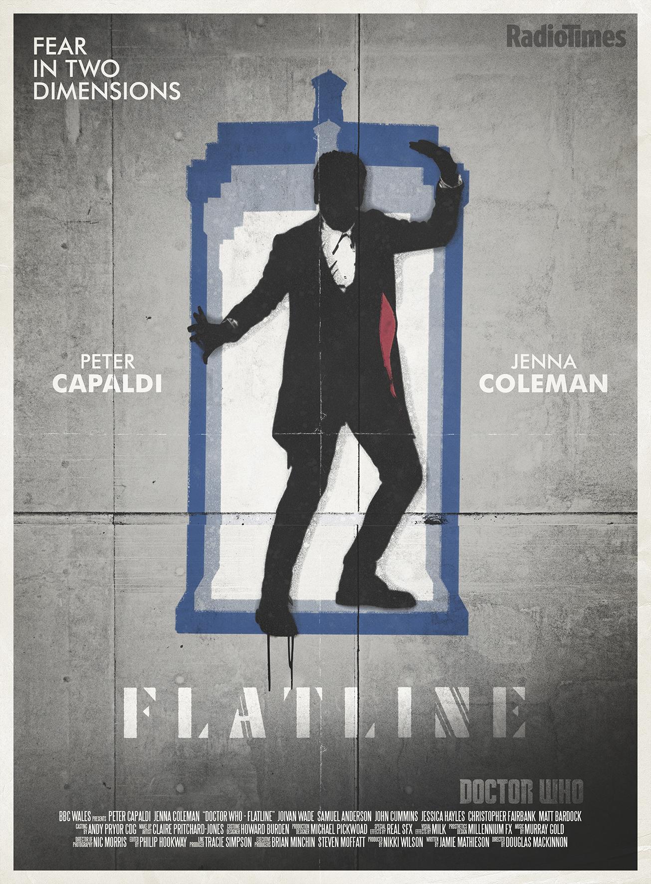Doctor Who: Stuart Manning's Flatline Poster