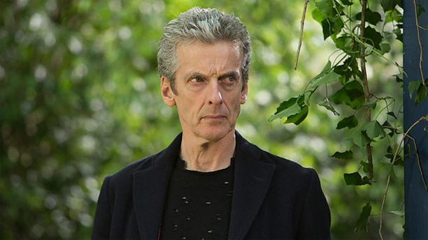Peter Capaldi as the Doctor in 'In the Forest of the Night'