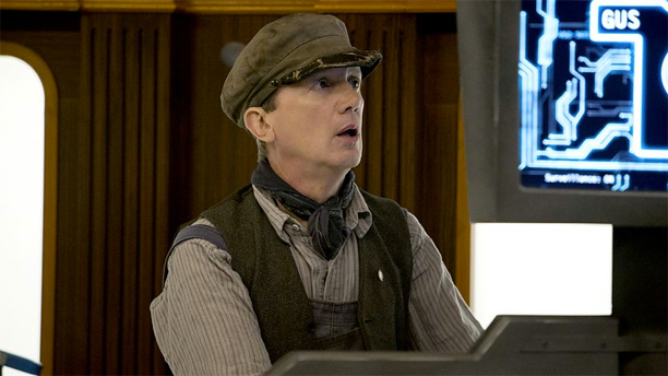 Frank Skinner in 'Mummy on the Orient Express' (Pic: BBC)