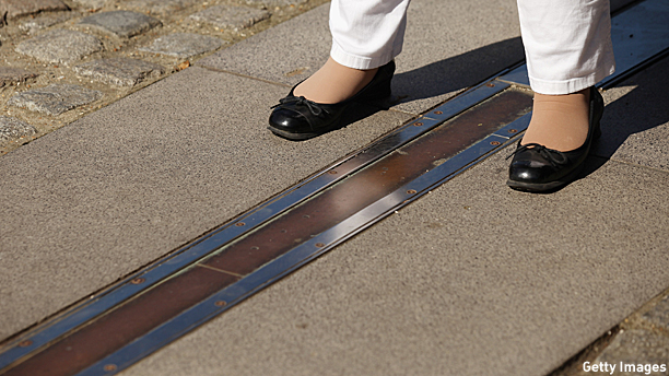 The Greenwich Prime Meridian (ish)