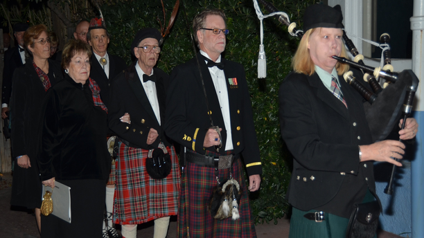 Robert Burns Night 2014 at the Tucson Celtic Festival (Tucson Celtic Festival).
