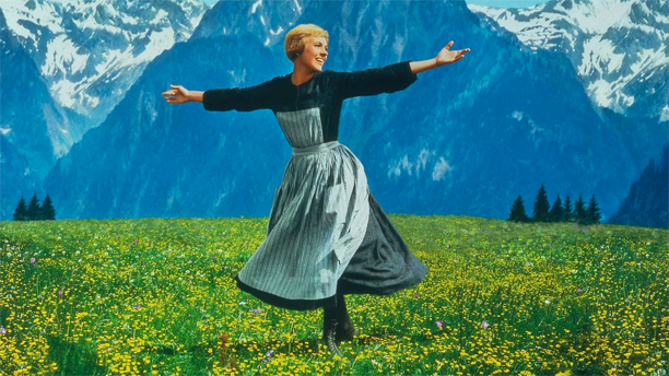 Julie Andrews in The Sound of Music (Pic: 20th Century Fox)