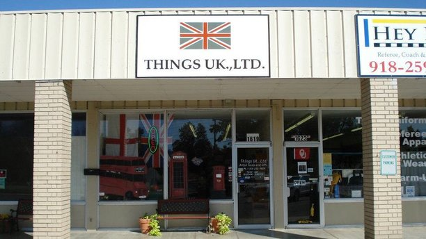 The exterior of U.K. Things Ltd. (Facebook)
