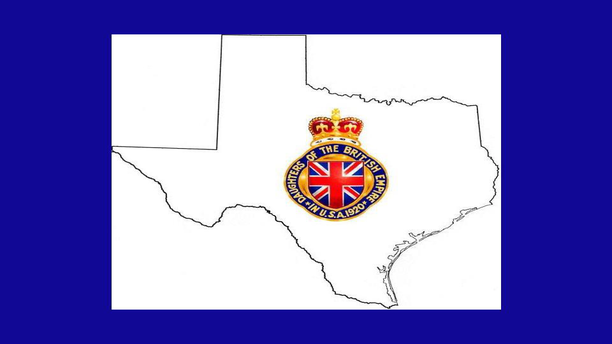 The Daughters of the British Empire logo, deep in the heart of Texas. (Facebook)
