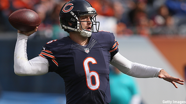 Jay Cutler of the Chicago Bears. (Photo: Jonathan Daniel/Getty Images)