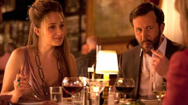 Jemima Kirke and Chris O'Dowd on 'Girls' (Photo: HBO)