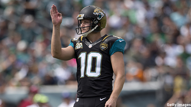 Josh Scobee of the Jacksonville Jaguars. (Photo: Mitchell Leff/Getty Images)