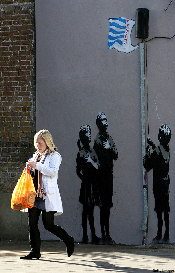 Snapshot: 13 Pieces of Street Art Brightening Up London
