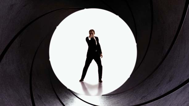 Daniel Craig as Bond in 'Quantum of Solace.' (Columbia Pictures)