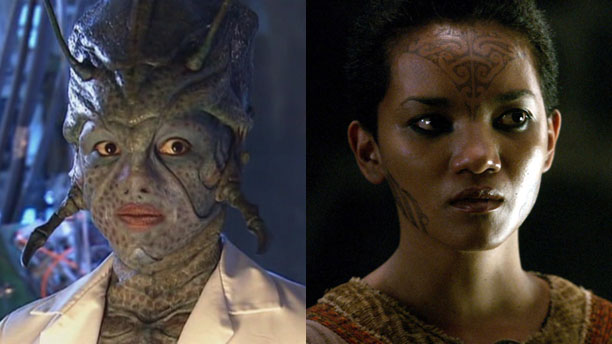 Chipo Chung as Chan Tho in 'Doctor Who' and Vivien in 'Camelot'