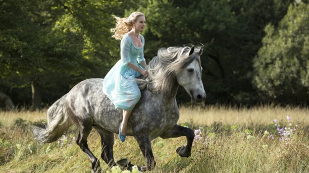 Lily James stars in the title role of Cinderella. (Disney)