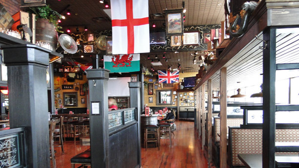 The very Sherlockian interior of Baker St. Pub and Grill. (Tulsa Food)