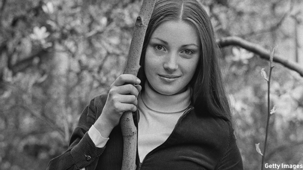 nglish actress Jane Seymour, 30th April 1969. This picture was taken when Seymour was a drama student and still using her birth name, Joyce Frankenberg. (Photo by Michael Stroud/Daily Express/Hulton Archive/Getty Images)