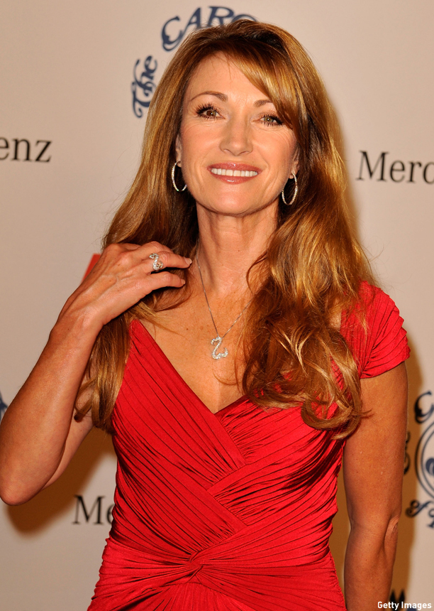 BEVERLY HILLS, CA - OCTOBER 25:  Actress Jane Seymour poses during the cocktail reception at the 30th anniversary Carousel of Hope Ball to benefit the Barbara Davis center for childhood diabetes held at the Beverly Hilton Hotel on October 25, 2008 in Beverly Hills, California.  (Photo by Kevin Winter/Getty Images)