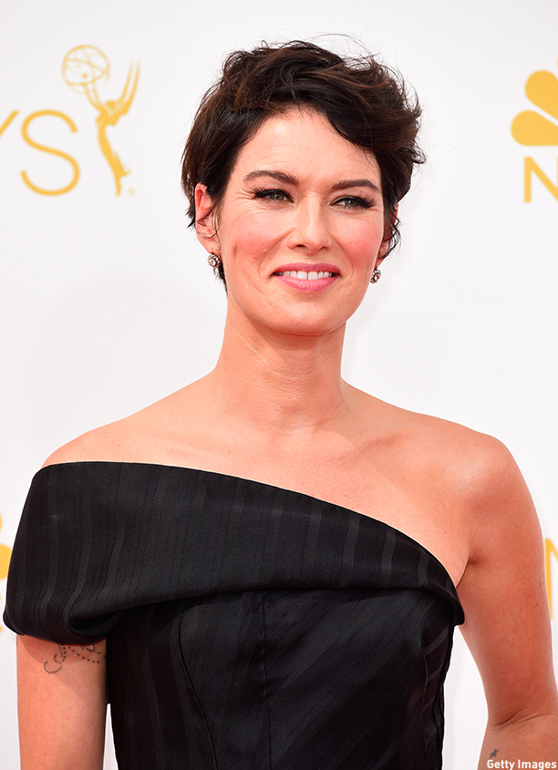 LOS ANGELES, CA - AUGUST 25:  Actress Lena Headey attends the 66th Annual Primetime Emmy Awards held at Nokia Theatre L.A. Live on August 25, 2014 in Los Angeles, California.  (Photo by Frazer Harrison/Getty Images)