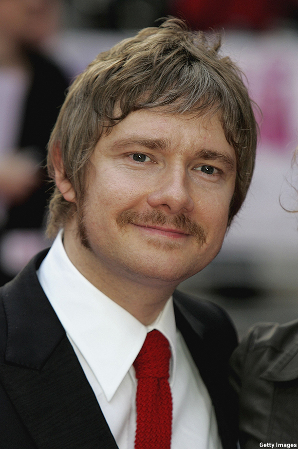LONDON - MAY 03:  Actor Martin Freeman arrives for the premiere of the film Confetti at Vue Leicester Square on May 3, 2006 in London, England.  (Photo by Chris Jackson/Getty Images)