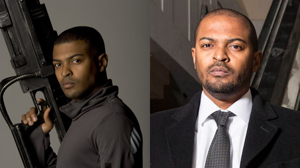 Noel Clarke as Mickey Smith in 'Doctor Who' and DCI Carl Pryor in 'Chasing Shadows'