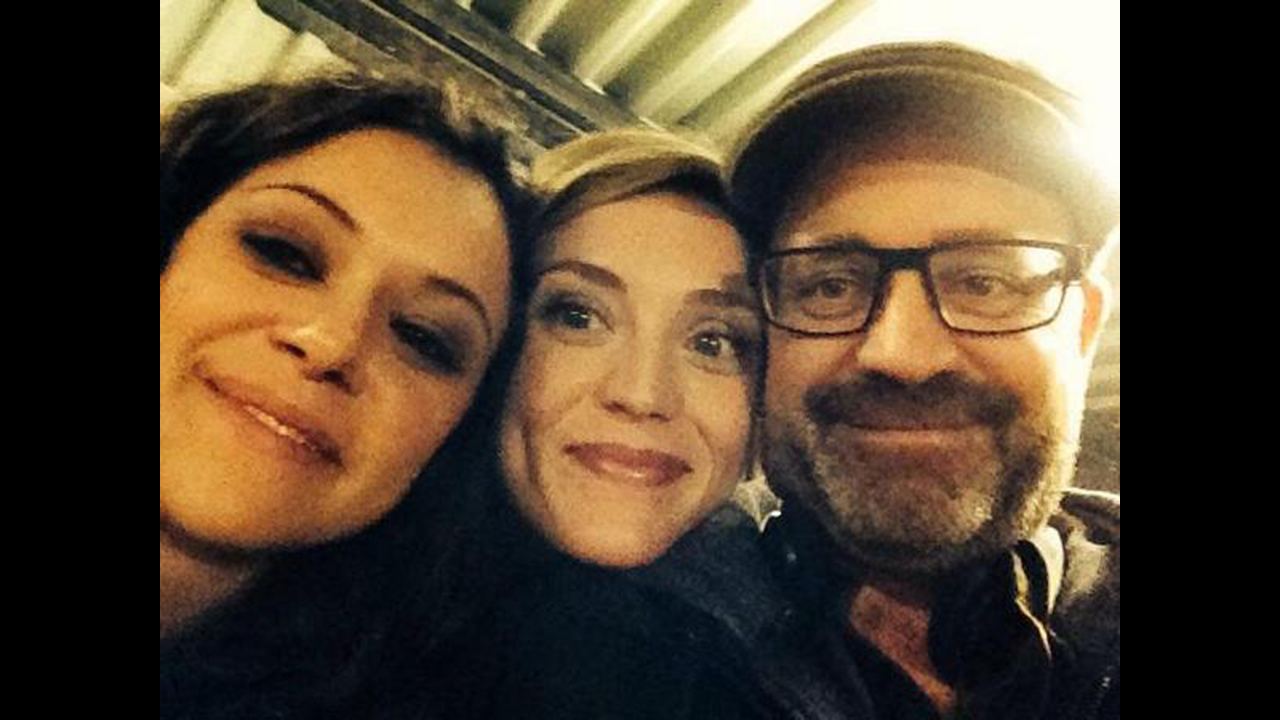 """#CloneClub #Clonesbians, @EvelyneBrochu is back! You can breathe easy (for now). EBRO!!!"" - Graeme Manson via Twitter"