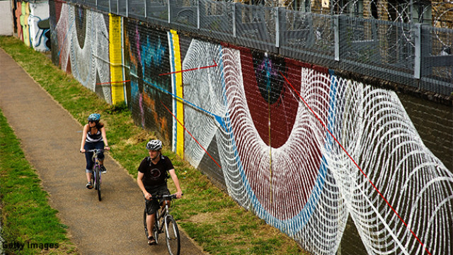 International Artists Take Over The Canal Wall's Near The Olympic Park