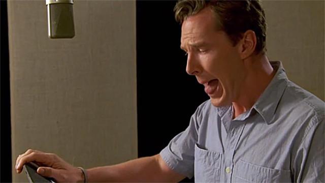 Benedict Cumberbatch's poodle impression