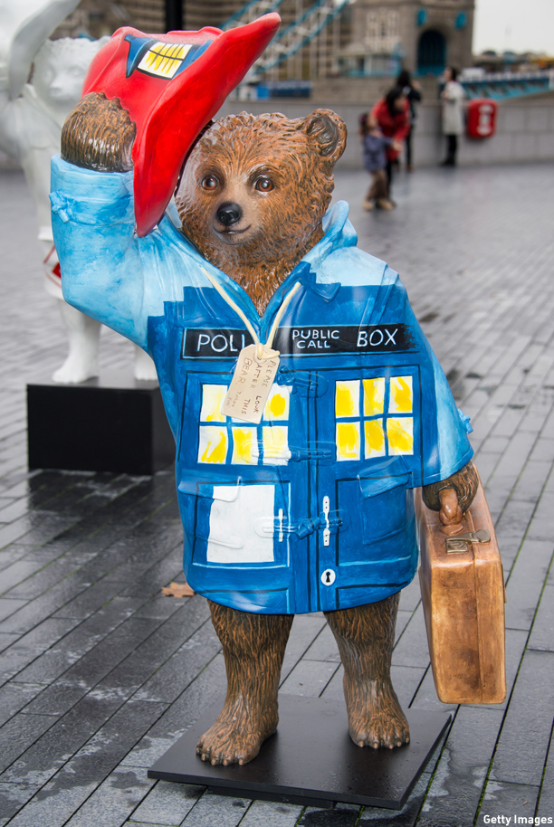 Peter Capaldi's Paddington TARDIS