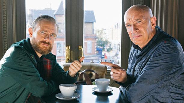 Martin Freeman, Simon Day in Brian Pern: A Life in Rock