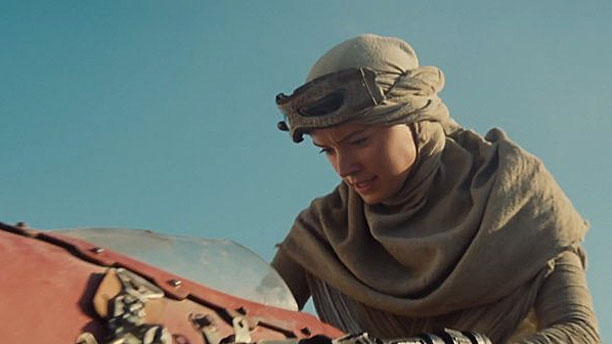 Daisy Ridley in 'Star Wars: The Force Awakens' (Pic: Lucasfilm)
