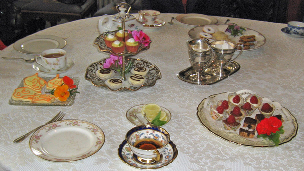 An assortment of desserts at the Pardee Home Museum. (Pardee Home Museum)