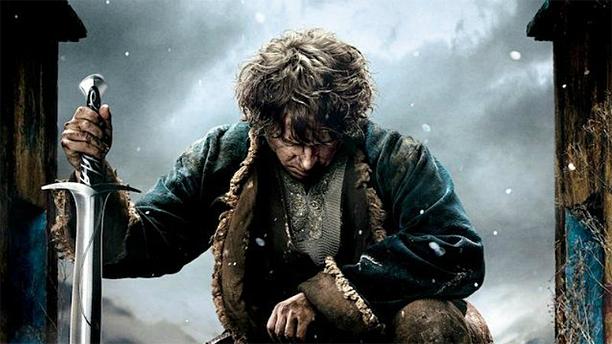Martin Freeman as Bilbo Baggins in 'The Hobbit: the Battle of the Five Armes' (Pic: Warner Bros)