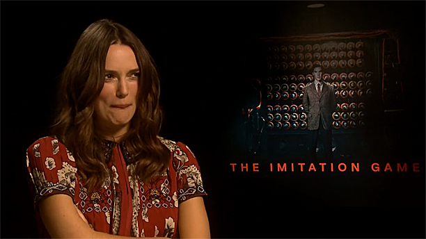 Keira Knightley's Benedict Cumberbatacch face (Pic: Radio Times)