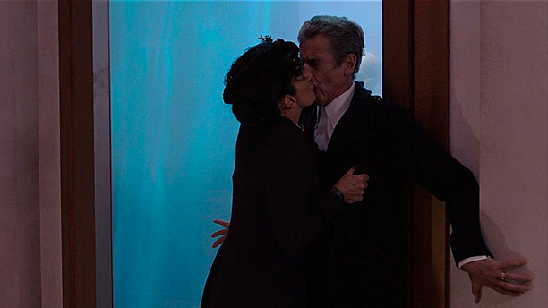 Dark Water, Missy kisses the Doctor